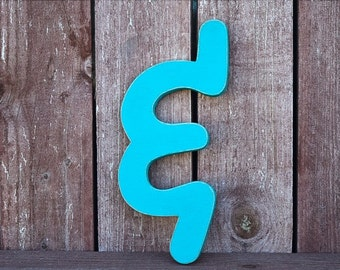 Modern Ampersand - Wooden And Sign - Wooden ampersands - Shabby Chic, rustic, distressed home decor