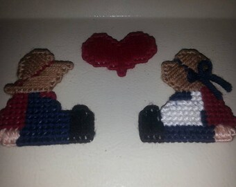 Amish Couple Refrigerator Magnet