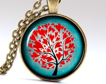 Love tree Necklace Relationship Jewelry Tree of Life Pendant Love Tree Jewelry Love Tree Jewelry LG267