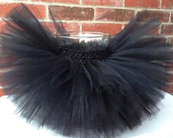 Black tutu, cat tutu, cat halloween costume, black, tutu, birthday tutu, baby tutu, newborn tutu, toddler tutu, girl tutu