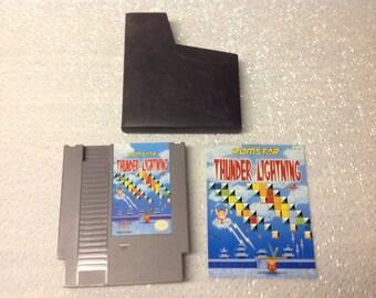 NES Thunder & Lightning Game Cartridge-Used