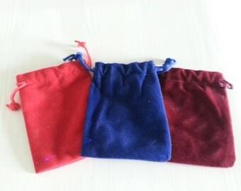 Velvet Pouch - Crystal Carrying Bag, Mojo Bag, Spell Pouch