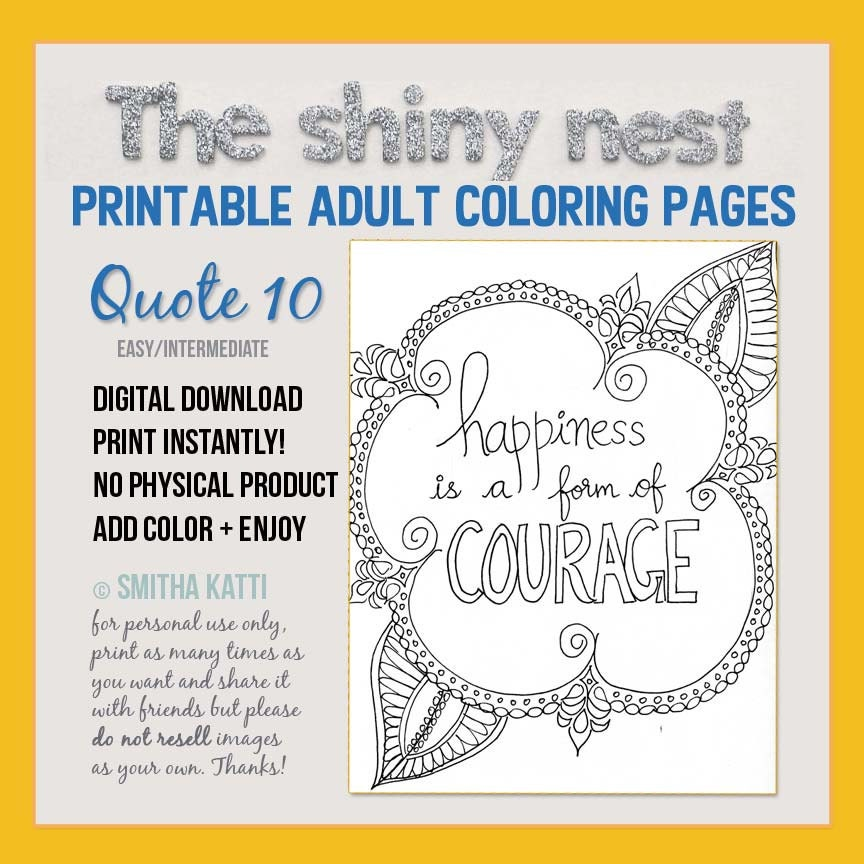 printable coloring page adult coloring art therapy
