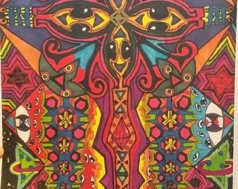 DivinEyez Art Print by by Lucid Treasures