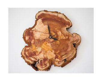 Wood Wall clock Hand-Made, Unique Wall Clock, Retro Wall Clock, Wall Clock Home Decor, Wall Clock Vintage, Decorative Clock