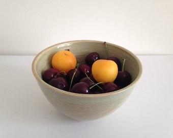 Ceramic Serving Bowl, Large Cereal Bowl, Fruit Bowl