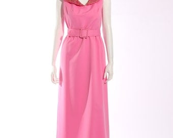 Coco of California Pink Evening Dress