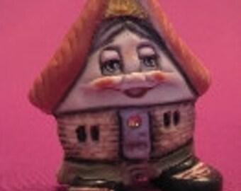 Mobile Home -- Allyson Nagel - A.N. Original Designs -- Porcelain Figurines