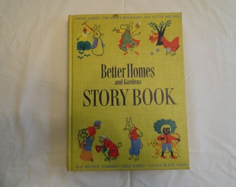 Better Homes and Gardens Story Book 1950 1st ed Hardcover