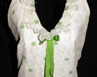 Vintage Daisy lace wedding dress