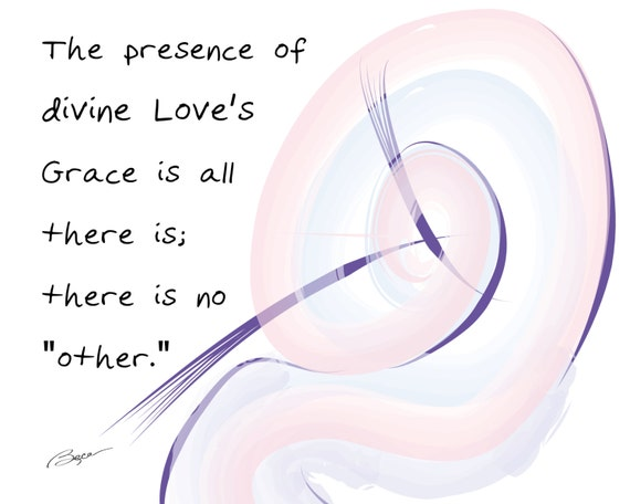 items similar to divine love s grace inspirational words