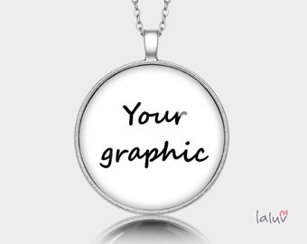 Medallion round WITH YOUR GRAPHIC
