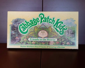 Cabbage Patch Kids Board Game 1984