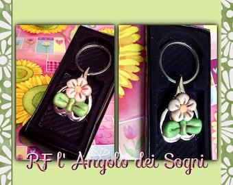 Little flower keyrings