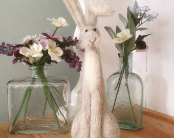 Large Needle Felted Hare