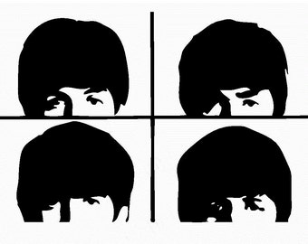 The Beatles #2 vinyl decal