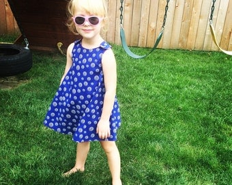 Ready to ship! Reversible Sundress with Bloomers
