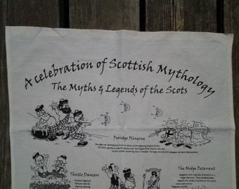 Vintage Scottish Mythology / Scottish humour / Scotts banner