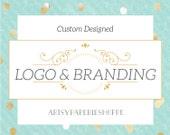 Custom Made to Order Logo, Etsy and Branding Set