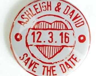 70 x CUSTOM wedding save the date magnet, wedding stamp magnet, wedding invite, engagement save the date, wedding magnet