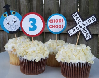 12 ct. Thomas the Train Cupcake Toppers
