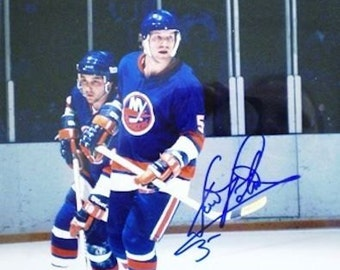 Denis Potvin Autographed 8x10 Photo-With Hologram