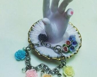 Cottage Chic Charm Bracelet
