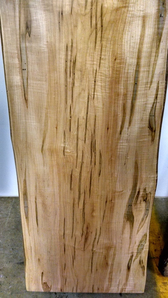Live Edge Ambrosia Maple Slabs Fully Finished