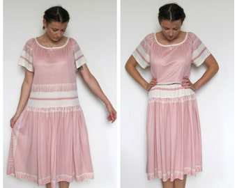 Powder Pink dress vintage
