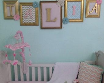 Custom Baby Name Framed Wall Decor