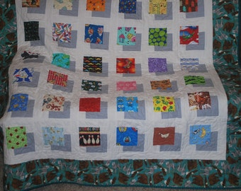 I Spy in 3-D PDF Quilt Pattern by Quiltb4clean