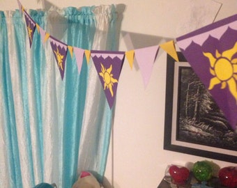 Tangled Inspired Banner/Wall Hanging/Bunting