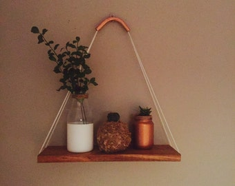 Copper Top Shelf Wall Hanger