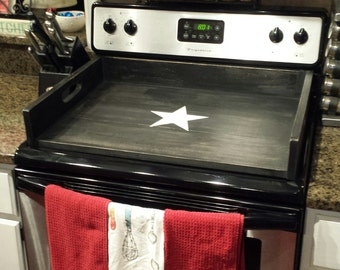 Items Similar To Sleek Wood Stove Top Cover Board Or Rv