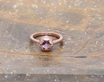 Aditi hexagonal ring