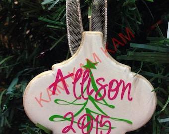 Ceramic Christmas ornaments!