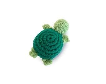 Catnip Cat Toy - Crochet Cat Toy - Catnip Turtle Toy - Crochet Turtle Toy - Catnip Kitten Toy - Crochet Turtle Keychain Charm