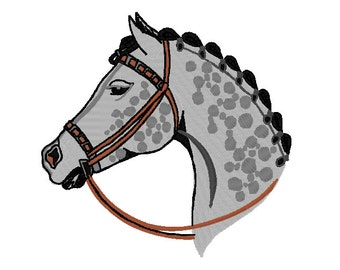 Appaloosa Embroidery Design