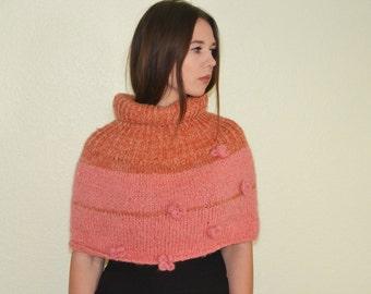 Orange/pink wrap