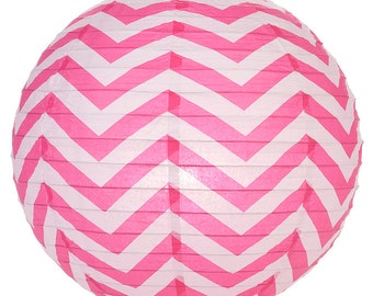 Chevron Paper Lanterns