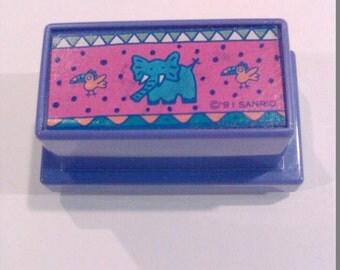 Rare vintage sanrio stamp 1991