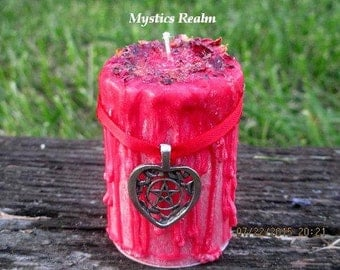 Love spell candle | Etsy