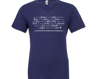 "Gilmore girls show shirt - ""Gilmore Goals"" Shirt - Gilmore Tee Shirt Lorelai Gilmore Rory tshirt Stars Hollow shirt gilmore fan gift"