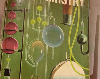 Vintage The How and Why Wonder Book of Chemistry, Wonder Books, 1969 Chemistry Book