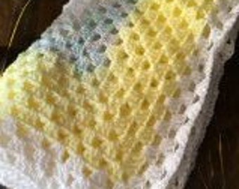 Crochet Baby Blanket - Granny Square