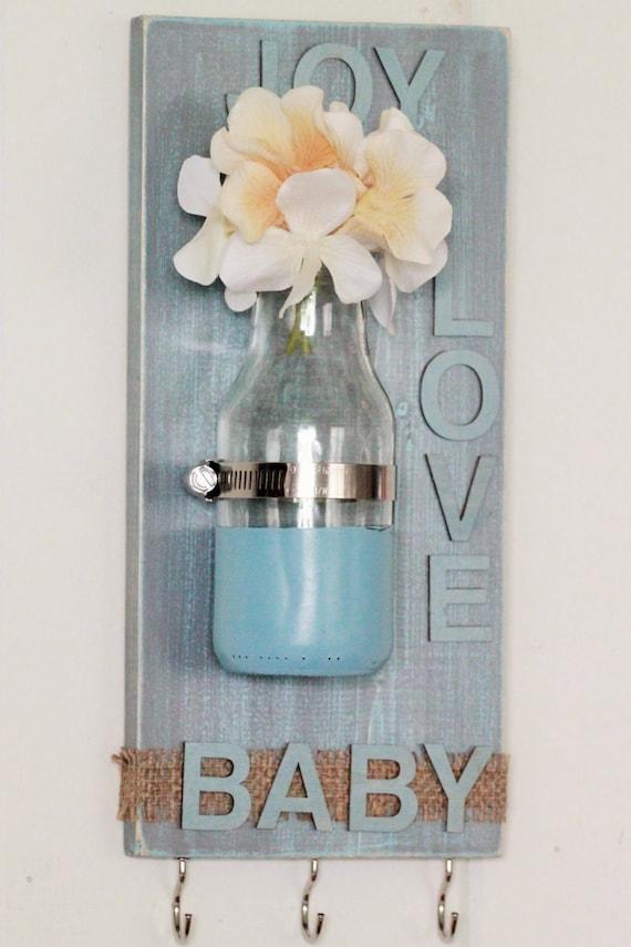 Items similar to Wall Decor, Baby Gift, Burlap, Baby ...
