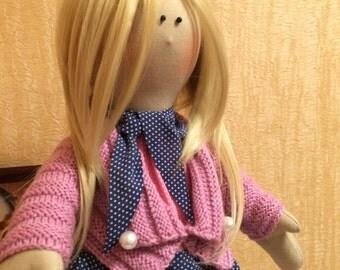 """Decor Doll Tilda Style """"Cute Bead"""" 100% Handmade"""