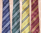 Ties Harry Potter Tie all houses NEW unworn Variants Gryffindor Hufflepuff Ravenclaw Slytherin