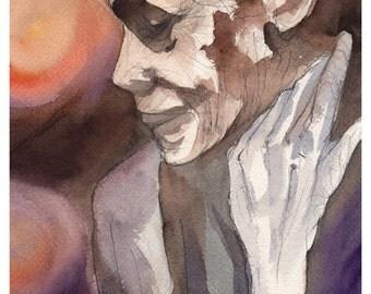 Ritratto di donna - Portrait of a woman - Watercolor - Acquerello