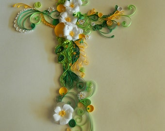 Quilled Cross